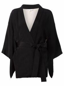 Fleur Du Mal 'Haori' kimono - Black