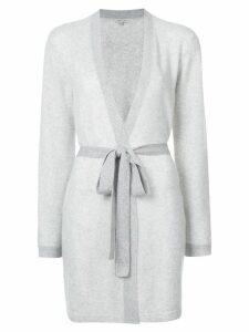 Morgan Lane cashmere Bella wrap robe - Grey