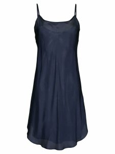 Lee Mathews Bias slip dress - Blue