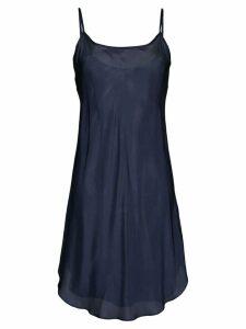 Lee Mathews Bias slip dress - Blue
