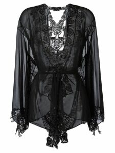 Belle Et Bon Bon Bisoux kimono - Black