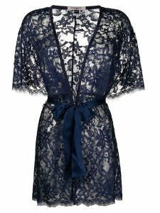 Gilda & Pearl Lana kimono - Blue