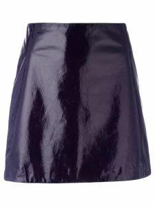 Nina Ricci mini A-line skirt - Purple
