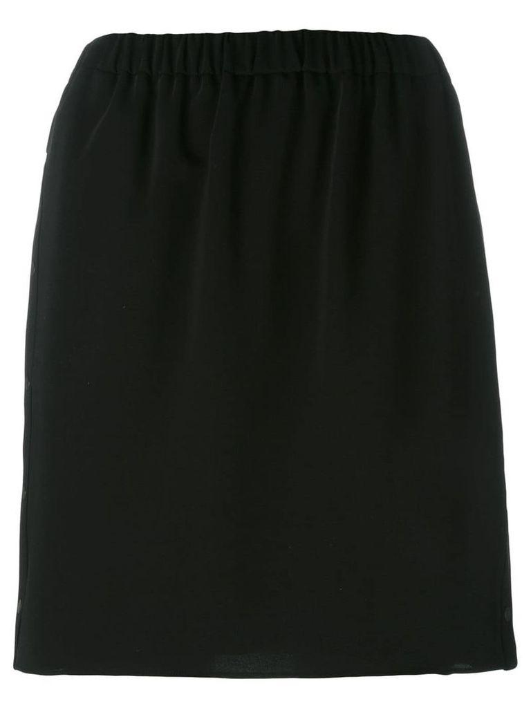 Kenzo elasticated skirt - Black