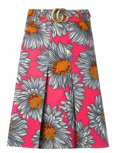 Gucci daisy print skirt - Multicolour