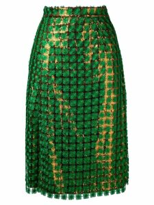 Marco De Vincenzo sequin skirt - Green
