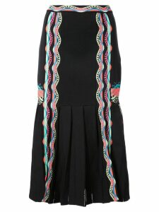 Peter Pilotto ric-rac trimmed skirt - Black