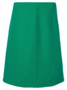 Prada classic A-line skirt - Green