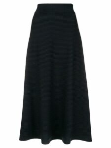 Sonia Rykiel A-line midi skirt - Blue