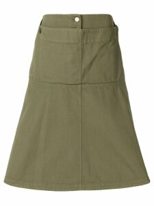 JW Anderson fold front skirt - Green