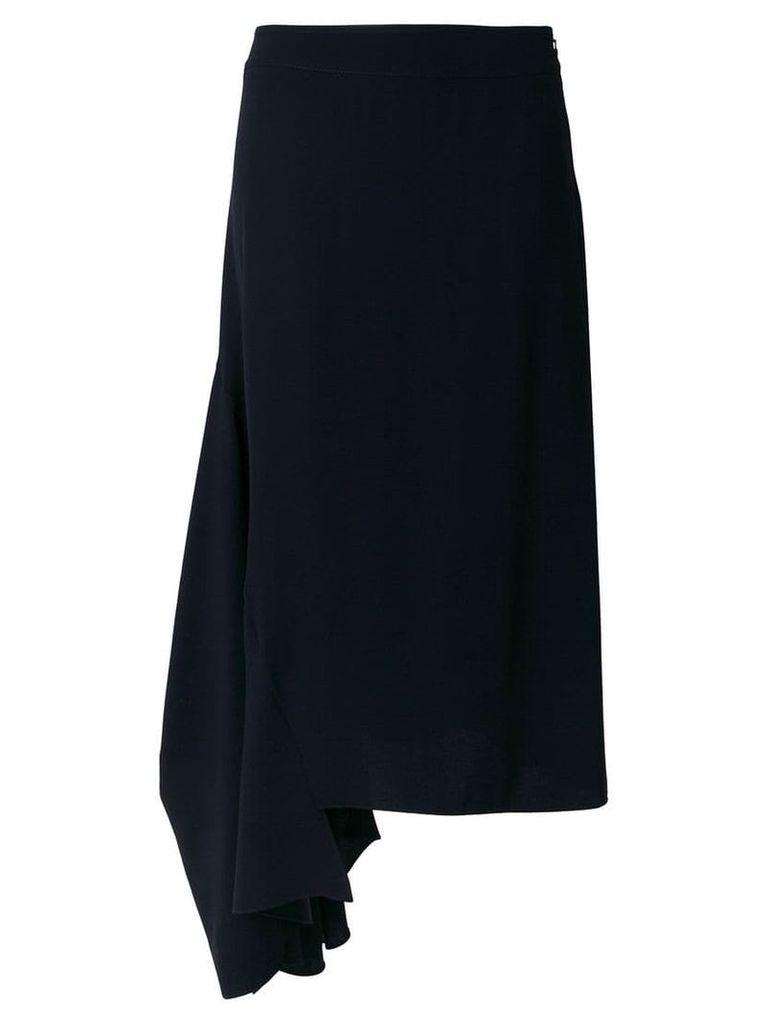 Marni asymmetric midi skirt - Blue