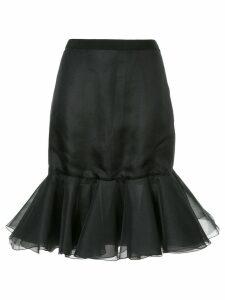 Giambattista Valli peplum hem skirt - Black