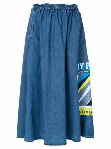 Kenzo Hyper Kenzo denim skirt - Blue