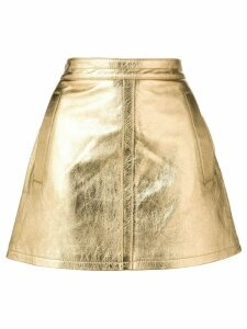 Philosophy Di Lorenzo Serafini a-line short skirt - Metallic
