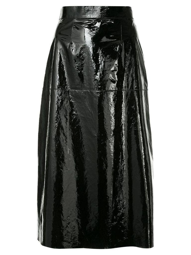 Inès & Maréchal A-line skirt - Black