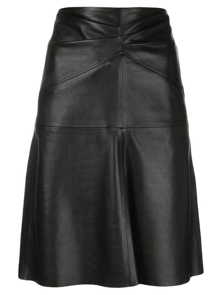 Isabel Marant Étoile Gladys leather skirt - Black