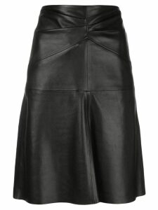 Isabel Marant Étoile Gladys leather skirt - Black