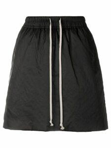 Rick Owens DRKSHDW drawstring skirt - Black