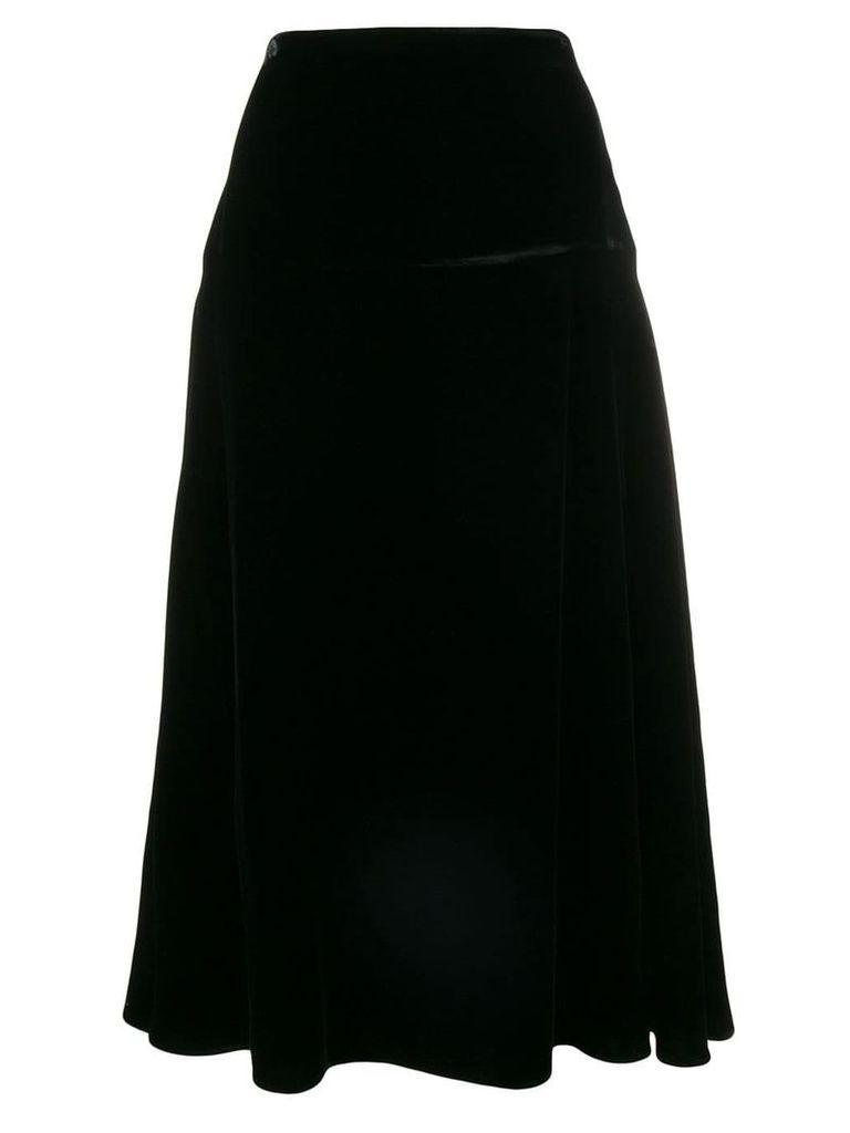 Fendi flared midi skirt - Black