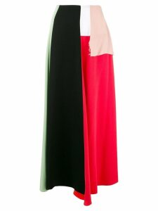 Marni colour block skirt - Black