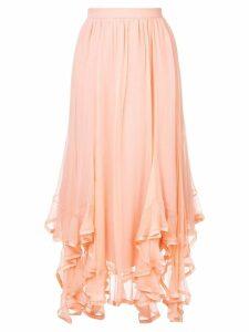 Chloé handkercheif hem skirt - Pink