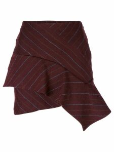Isabel Marant Kimura pinstriped skirt - Pink