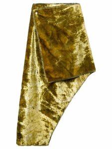 Eckhaus Latta asymmetric skirt - Green