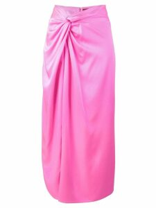 Sies Marjan twist satin skirt - Pink