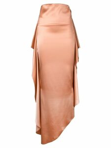 Paula Knorr draped skirt - NEUTRALS