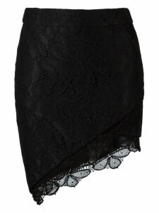 Martha Medeiros lace skirt - Black