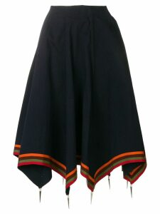 JW Anderson navy umbrella skirt - Blue