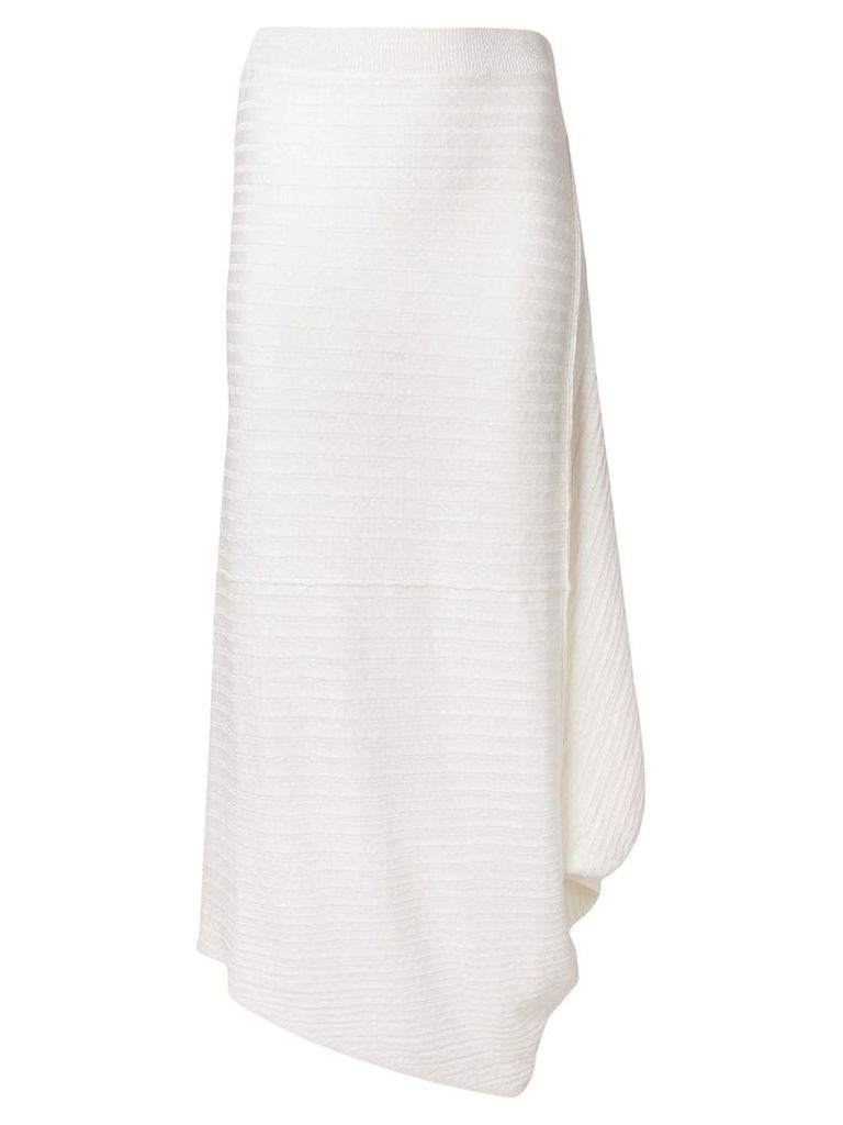JW Anderson ribbed skirt - White