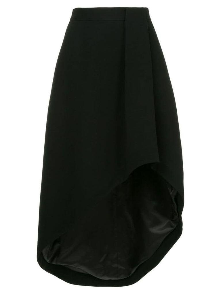 Bianca Spender Elipse skirt - Black