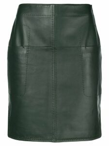 Carven short fitted skirt - Green