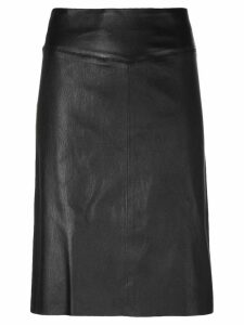 Joseph panelled fitted skirt - Black