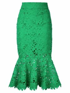 Bambah lace mermaid skirt - Green
