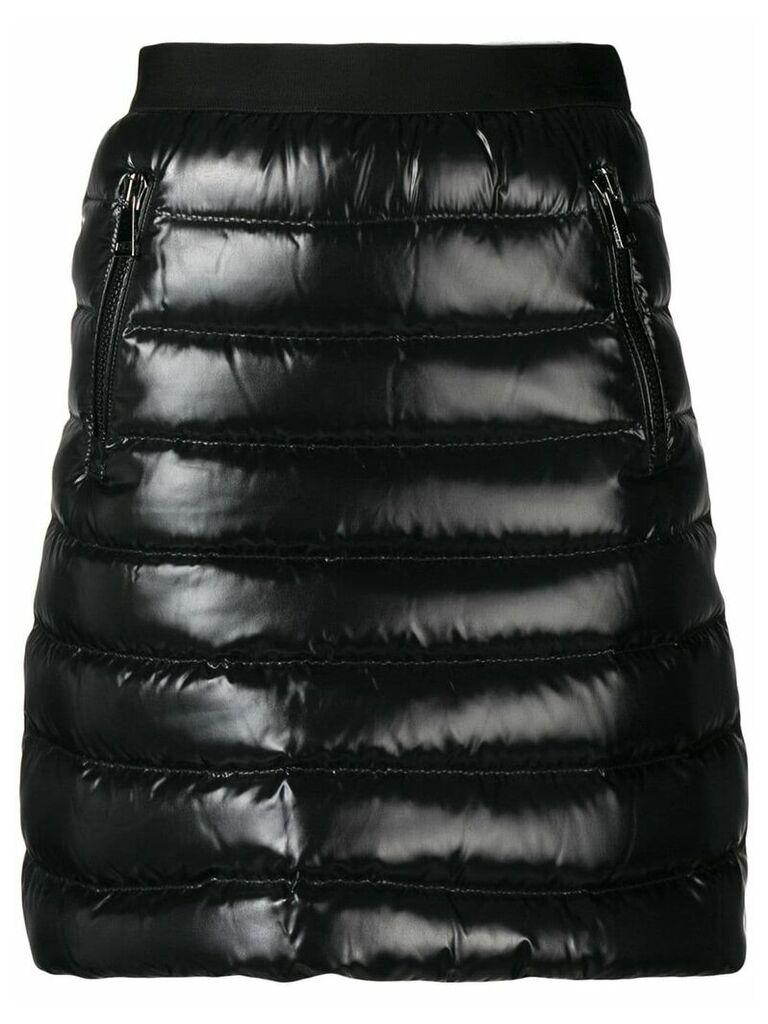 Moncler padded skirt - Black