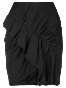 Isabel Marant Étoile frill-trim mini skirt - Grey
