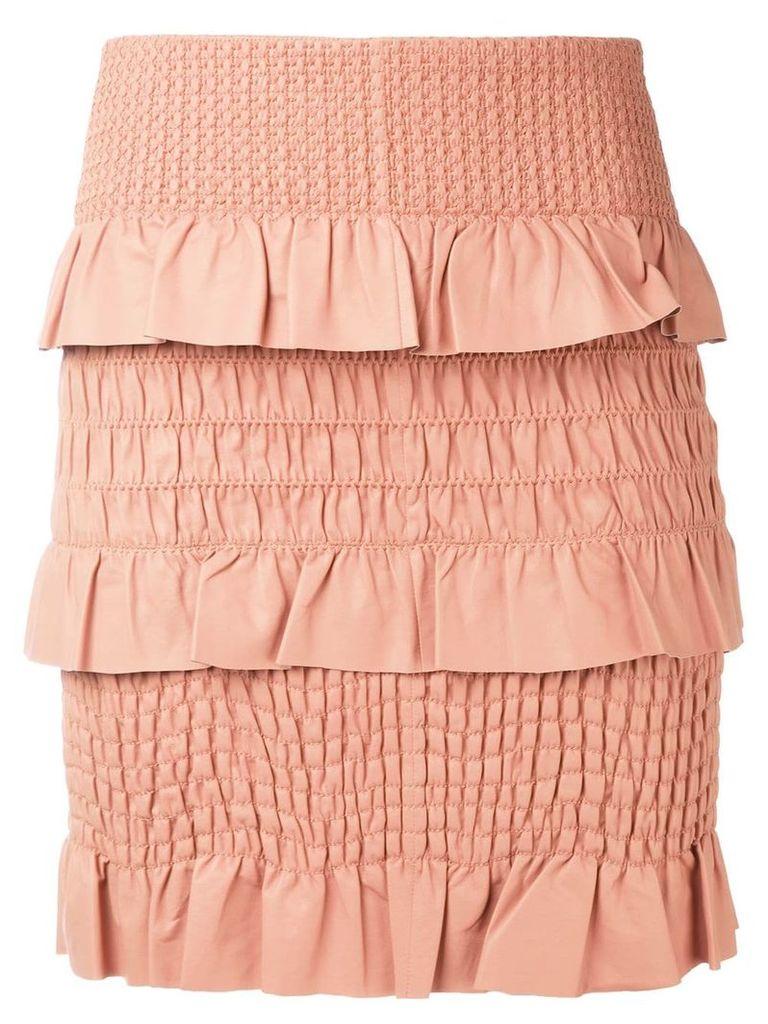 Drome textured skirt - Pink