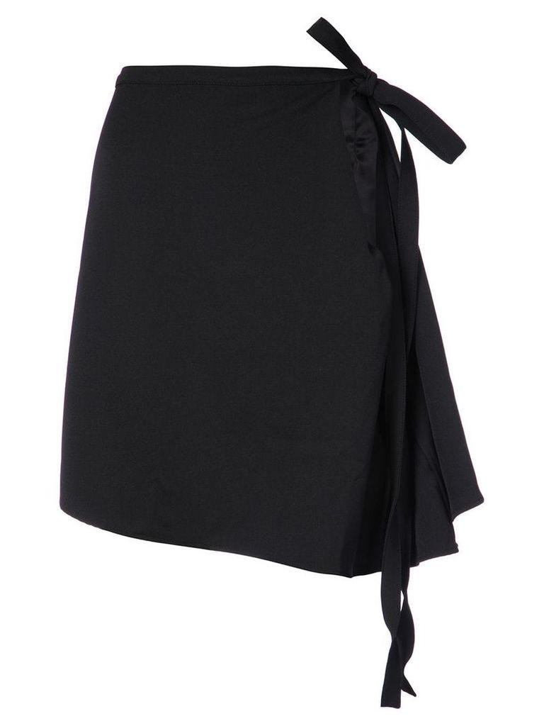 Y/Project open side skirt - Black
