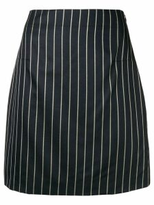 Noon By Noor Scout striped mini skirt - Blue