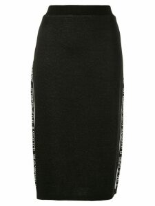 MSGM I Have lost Myself skirt - Black