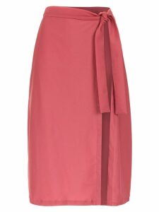 Adriana Degreas Pareo midi skirt - Pink