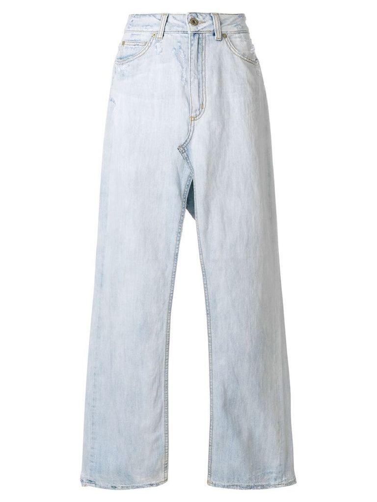 Dondup long denim skirt - Blue