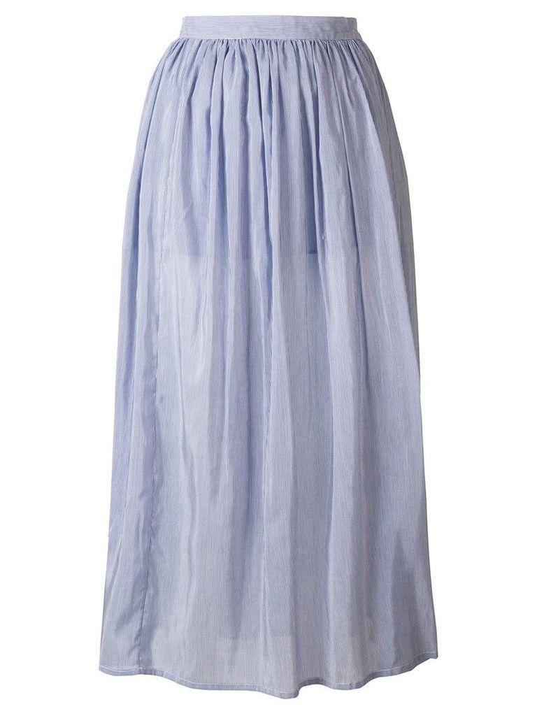 Thierry Colson midi full skirt - Blue