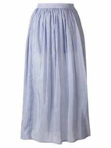 Thierry Colson midi full skirt - Blue