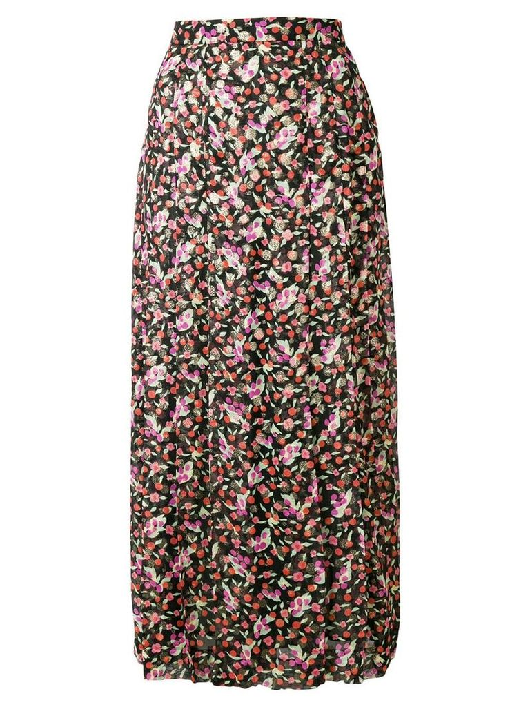 Vanessa Seward floral flared midi skirt - Multicolour