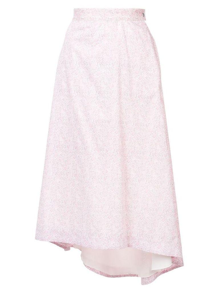 Loewe floral-print skirt - Pink