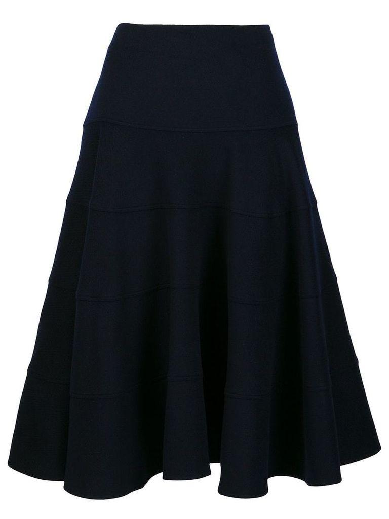 Victoria Beckham full midi skirt - Blue
