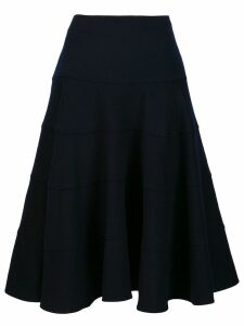 Victoria Beckham full midi skirt - Blue